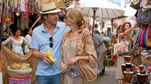 Javier Bardem and Julia Roberts in Eat Pray Love. (Francois Duhamel)