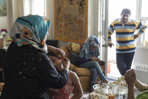 The Suleymans in their new home: Are they here for good?