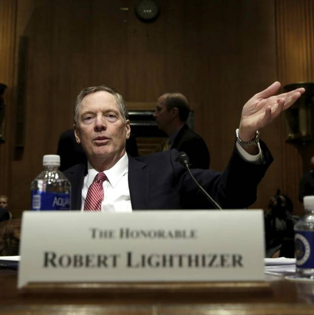 Mr. Lighthizer's hardball negotiating came to prominence in the early 1980s over grain exports to the Soviet Union.