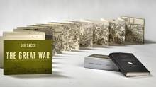 Joe Sacco says The Great War was inspired by the Bayeux Tapestry, that 70-metre-long pictorial account of the Norman Conquest. (Peter Power/The Globe and Mail)