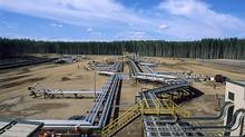 Fort Hills is one of three projects Suncor is reviewing in an attempt to carefully analyze costs. <137>MacKay River well pad in the oil sands<137>