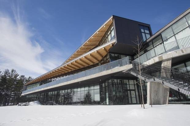 The new student centre was designed by Teeple Architects.