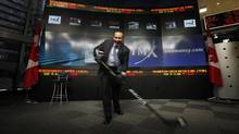 Kevin Davis, president and CEO of Bauer Performance Sports, poses for a photo at the TMX Broadcast Centre in Toronto on March 10, 2011. (Deborah Baic/The Globe and Mail)
