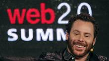 Napster co-founder and former Facebook president Sean Parker speaks during the Web 2.0 Summit in San Francisco, Calif., Oct. 17, 2011. (Robert Galbraith/Reuters)