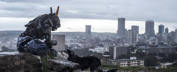 A still from Chappie.