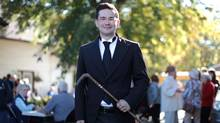 Pierre Poilievre's statements in the House of Commons are not delivered in the usual hot-headed manner of the attack dog. (Dave Chan for The Globe and Mail)