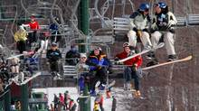 Stowe in Vermont has something from everyone, from bumps and eastern glades for experts to easy fare for beginners. (Rob Swanson/Associated Press)