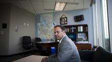Richard Rosenthal, chief civilian director of the Independent Investigations Office, at his office in Surrey, B.C., in August 2012. (Rafal Gerszak for The Globe and Mail)