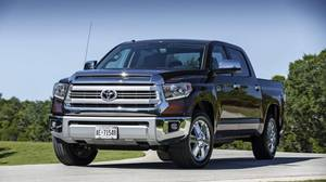 The 2014 Toyota Tundra has been given an interior makeover to appeal to the upscale customer.