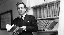 In 1978, at the age of 34, Conrad BLack was named Report on Business Man of the Year -- for, among other things, winning the struggle for control of Argus Corp. (Tibor Kolley/The Globe and Mail)