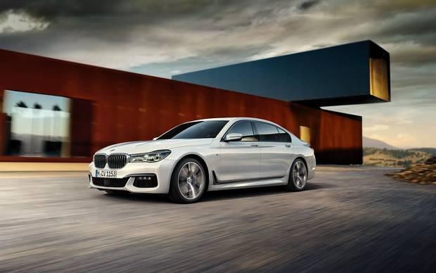 2018 BMW 7 Series.