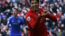 Liverpool's Luis Suarez is off to Spanish league giants Barcelona (PHIL NOBLE/REUTERS)