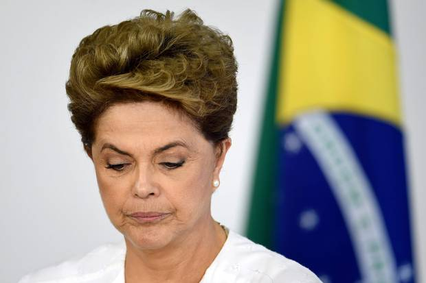Brazilian President Dilma Rousseff is fighting for her political life.