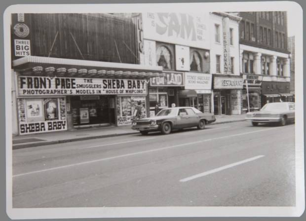 Around the beginning of the 1970s, the Yonge strip south of Bloor became seedier and racier, a transition that began with the development of the Toronto Eaton Centre.