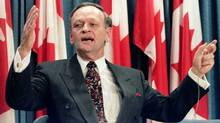 Canadian Prime Minister Jean Chrétien at a 1994 news conference. (Peter Jones/REUTERS/Peter Jones/REUTERS)