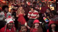 Mariah Carey stopped by Jimmy Fallon and The Roots and did a flawless All I Want For Christmas Is You.