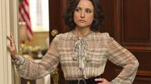 Julia Louis-Dreyfus plays the U.S. vice president on Veep.