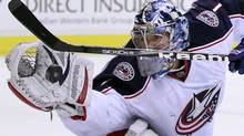 Columbus Blue Jackets goaltender Steve Mason (Reuters)