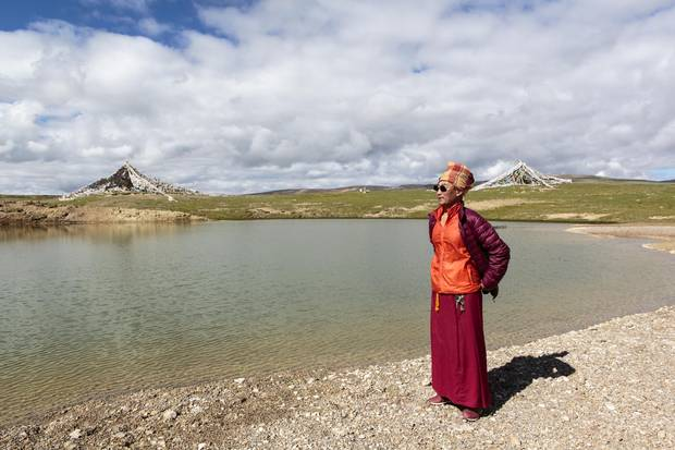 The main Zaxiqiwa spring is a spriritual site for Tibetans. It's believed the revered 5th Dalai Lama named these springs as a 'source of rivers.'
