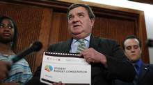 Finance Minister Jim Flaherty will table his next budget on March 21, 2013. (Chris Wattie/Reuters)