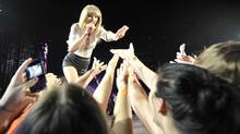 Taylor Swift is coming to on Saturday Vancouver on Saturday as part of her 45-city tour. (J.P. MOCZULSKI For The Globe and Mail)