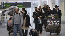 CIBC has inked a deal to make it the only bank allowed to advertise at Toronto's Lester B. International Airport. (Fred Lum/The Globe and Mail)