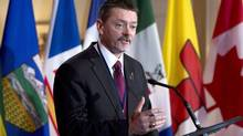 Alberta's Doug Horner says any proposal will have to meet some important conditions. (Adrian Wyld/The Canadian Press)