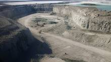 Agnico-Eagle's Meadowbank mine: The company reported record production of 110,988 ounces of gold at Meadowbank in the third quarter. (STAFF/Reuters)
