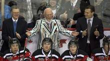 Don Cherry at the CHL Top Prospects Game in Halifax on Wednesday, Jan. 16, 2013. (Andrew Vaughan/THE CANADIAN PRESS)
