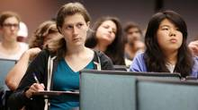 At Harvey Mudd College in Claremont, Calif., women make up 40 per cent of the program's graduates thanks to measures begun by professor Christine Alvarado and backed by the school's president, Maria Klawe. (J. Emilio Flores for The Globe and Mail)