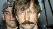 This 2010 file photo provided by the U.S. Drug Enforcement Administration shows Russian arms trafficker Viktor Bout in U.S. custody after being flown from Bangkok to New York. (AP/AP)
