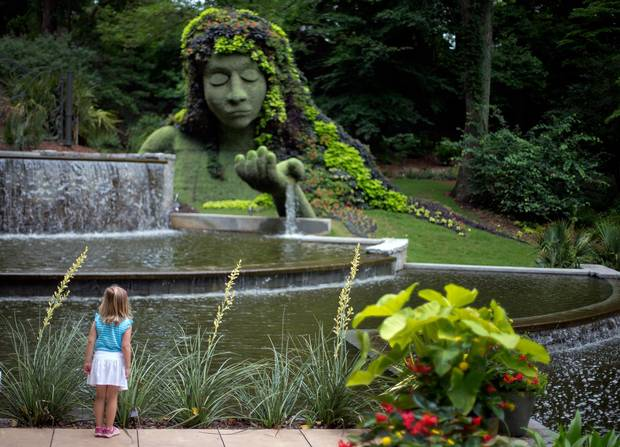 The Atlanta Botanical Gardens cater to the sensibilities of nature lovers, offering 30 acres of lush greenery and landscapes.