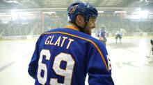 Seann William Scott stars in Goon, which tells the story of Doug Glatt, a down-on-his-luck bouncer who joins a hockey team destined for the cellar and inspires them into the playoffs.