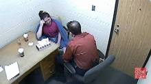 Terri-Lynne McClintic t is interviewed by OPP Det.-Sgt. Jim Smyth in an on May 29, 2009.