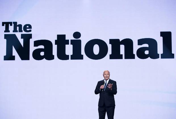 Peter Mansbridge started his career at CBC in 1968 as a radio host, and will sign off from his final broadcast as host of The National on July 1, 2017.