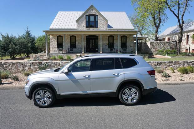2018 Volkswagen Atlas Go Big Or Go Home The Globe And Mail