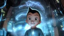 Set in futuristic Metro City, Astro Boy is about a young robot with incredible powers created by a brilliant scientist. Powered by positive blue energy, Astro Boy is endowed with super strength, x-ray vision, unbelievable speed and the ability to fly. Embarking on a journey in search of acceptance, Astro Boy learns the joys and emotions of being human, and gains the strength to embrace his destiny. Ultimately learning his friends and family are in danger, Astro Boy marshals his awesome super powers and returns to Metro City in a valiant effort to save everything he cares about and to understand what it takes to be a hero. (Courtesy of Summit Entertainment/© 2009 Imagi Crystal Limited and Summit Entertainment, LLC. Original Manga © Tezuka Productions Co., Ltd. All rights reserved.)