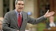 Liberal Leader Michael Ignatieff speaks during Question Period in the House of Commons on May 26, 2010. (Adrian Wyld/THE CANADIAN PRESS)