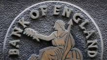 A plaque depicting Britannia is at the Bank of England in the City of London. The bank's new Financial Policy Committee, which is charged with averting future crises, has asked the government for sweeping powers to rein in banks, insurers and fund managers. (Toby Melville/Reuters/Toby Melville/Reuters)