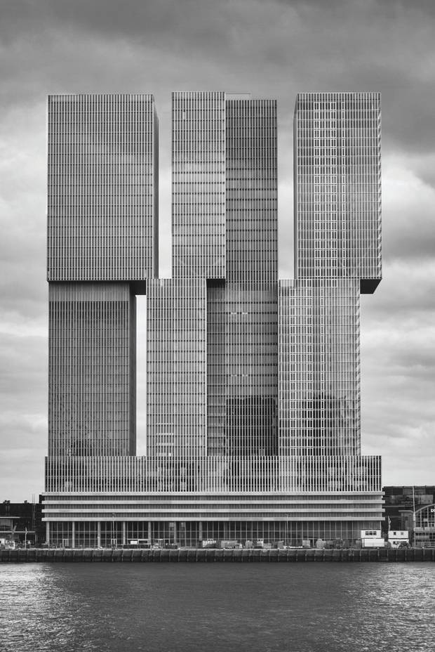 De Rotterdam in the Netherlands by Rem Koolhaas.