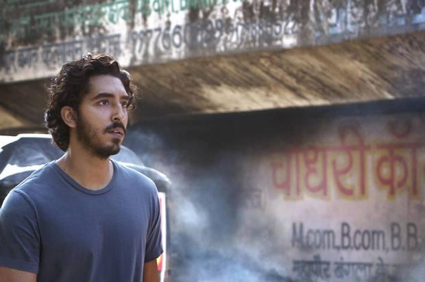Dev Patel appears in a scene from Lion.