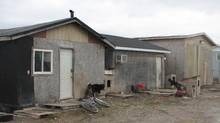 Housing conditions that led to a state of emergency in Attawapiskat. (Charlie Angus)