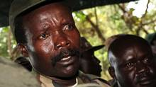 The leader of the Lord's Resistance Army, Joseph Kony answers journalists' questions following a meeting with UN humanitarian chief Jan Egeland at Ri-Kwamba in southern Sudan in 2006. A video by the advocacy group Invisible Children about the atrocities carried out by jungle militia leader Joseph Kony's Lord's Resistance Army is rocketing into viral video territory and is racking up millions of page views seemingly by the hour. (Stuart Price/AP)