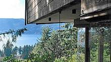The Case house, designed by west coast architect Ron Thom in West Vancouver in 1965. (All photos courtesy the Case family.)