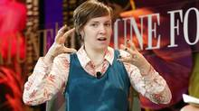 'It has so much cultural significance but also so much personal significance,' Lena Dunham says of Archie Comics. (ALEX GALLARDO/REUTERS)