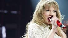 Taylor Swift performs in concert at the Prudential Center on Friday, March 29, 2013 in Newark, N.J. (Charles Sykes/AP)