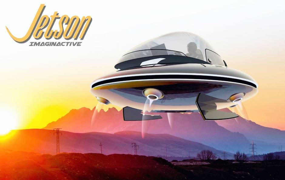 Jetsons-style flying saucer may soon be a reality
