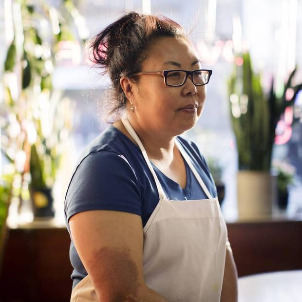 Ovaltine Cafe owner is Grace Chen is photographed at Ovaltine Cafe in Vancouver's Downtown Eastside, British Columbia, Wednesday, December 20, 2017.