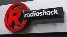 A sign for a RadioShack store is seen in the Brighton Beach section of the Brooklyn borough in New York in this file photo taken March 4, 2014. (SHANNON STAPLETON/Reuters)