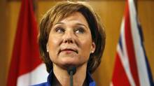 BC Premier Christy Clark in Victoria, Tuesday March 27, 2012. (Chad Hipolito For The Globe and Mail)